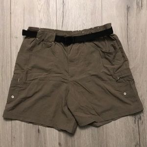 Columbia Cargo Nylon Hiking Fishing Shorts
